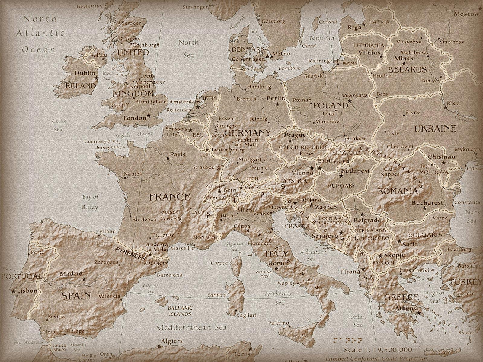 Фото Географическая карта География 1600x1200