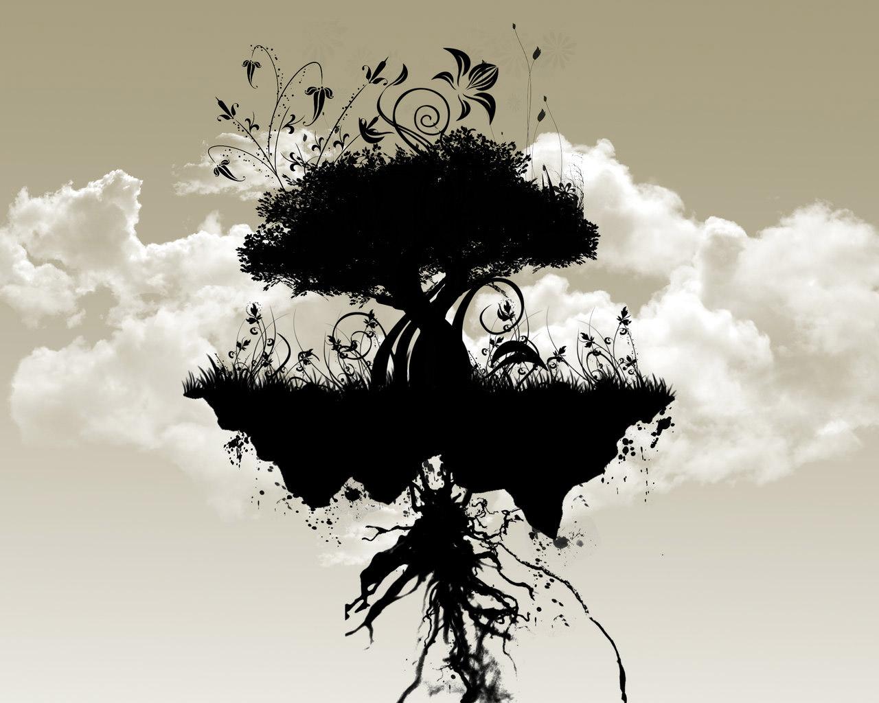 графика природа: