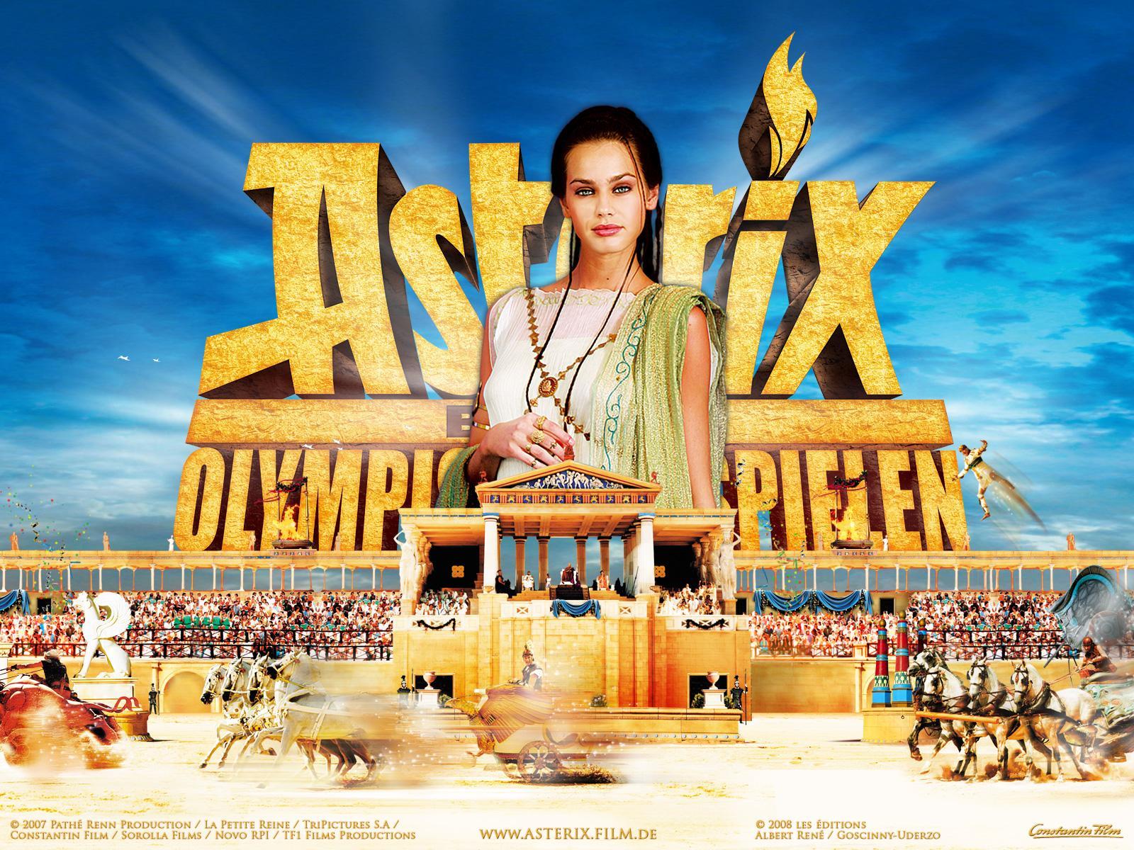 Картинки Астерикс на Олимпийских играх Фильмы кино