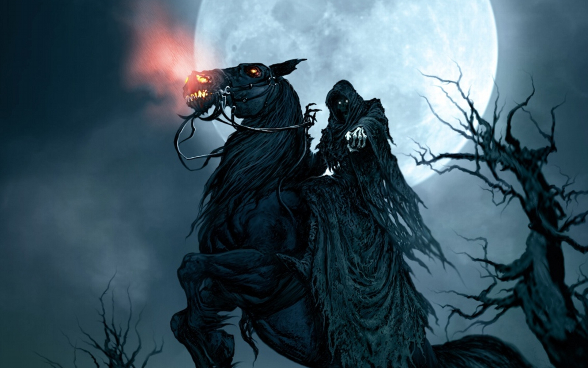 фэнтези графика женщина Grim Reaper  № 3256220 загрузить