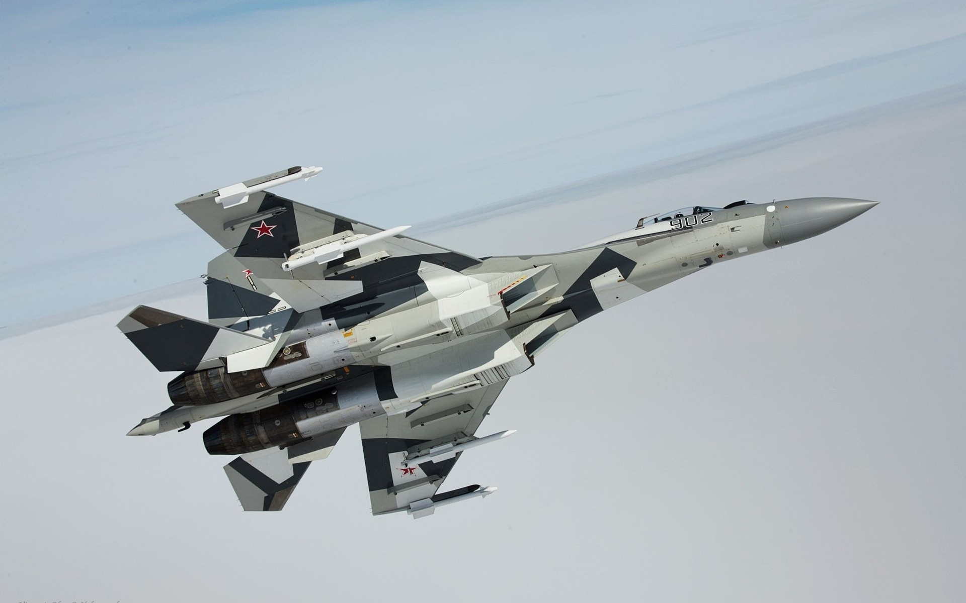 Обои Su-35S, Самолёт. Авиация foto 11