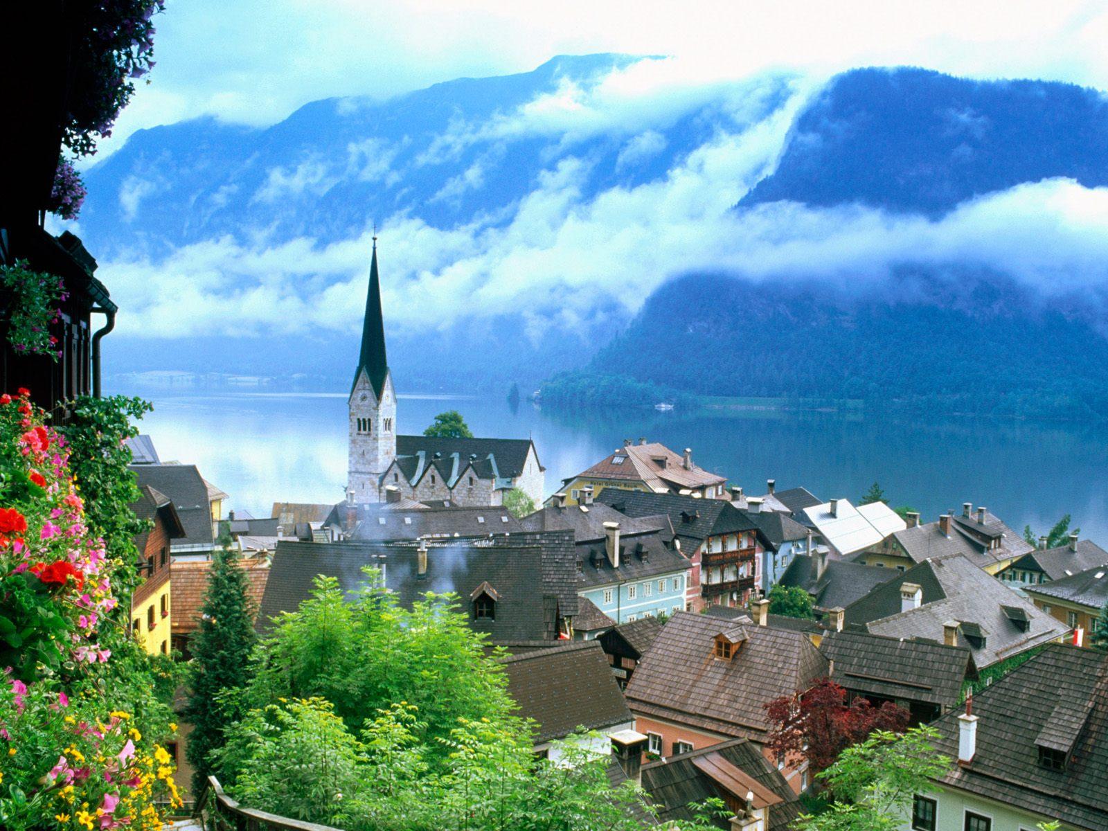 Salzkammergut, Austria  № 7740  скачать