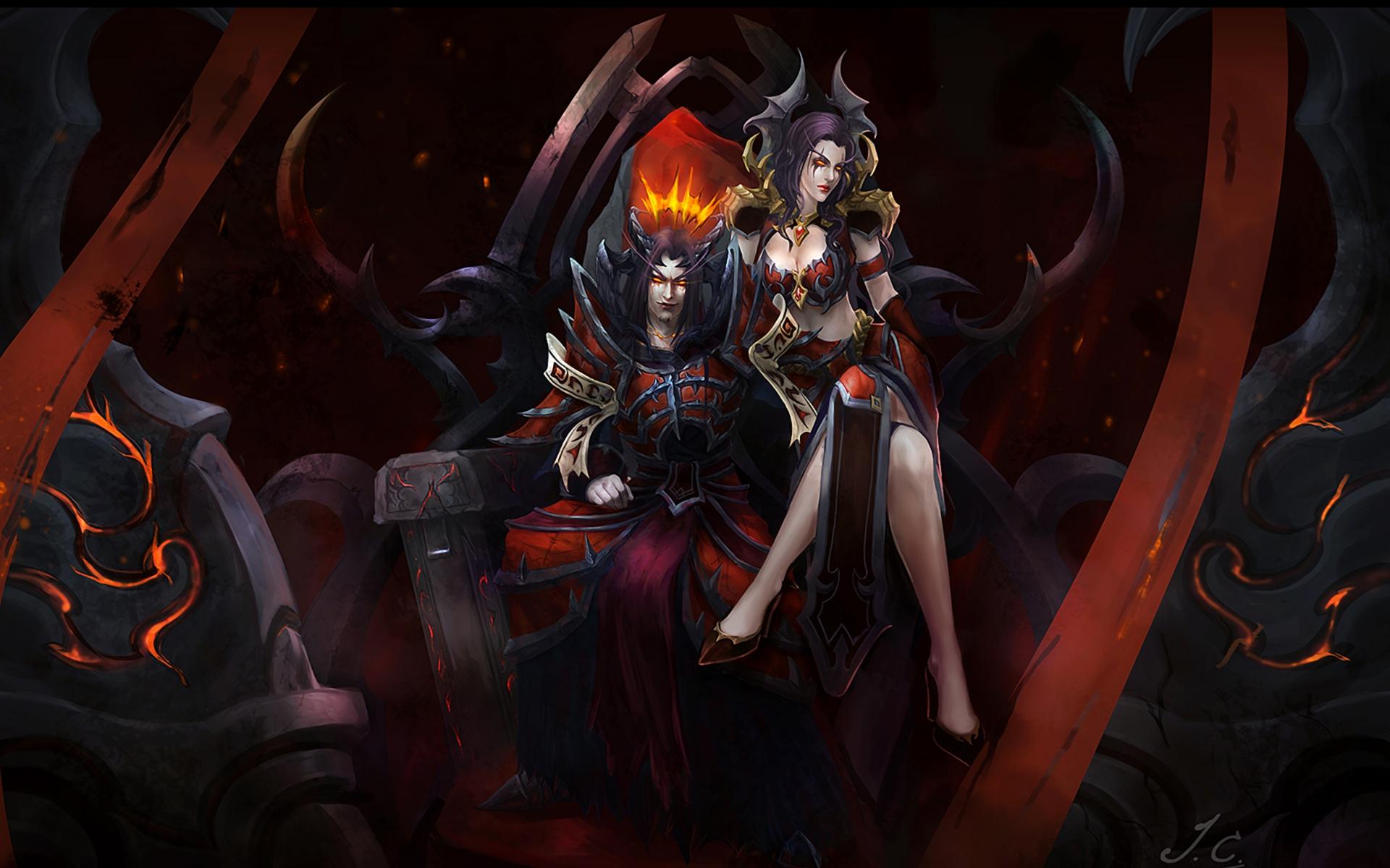 World of warcraft human vs demon hentai adult image