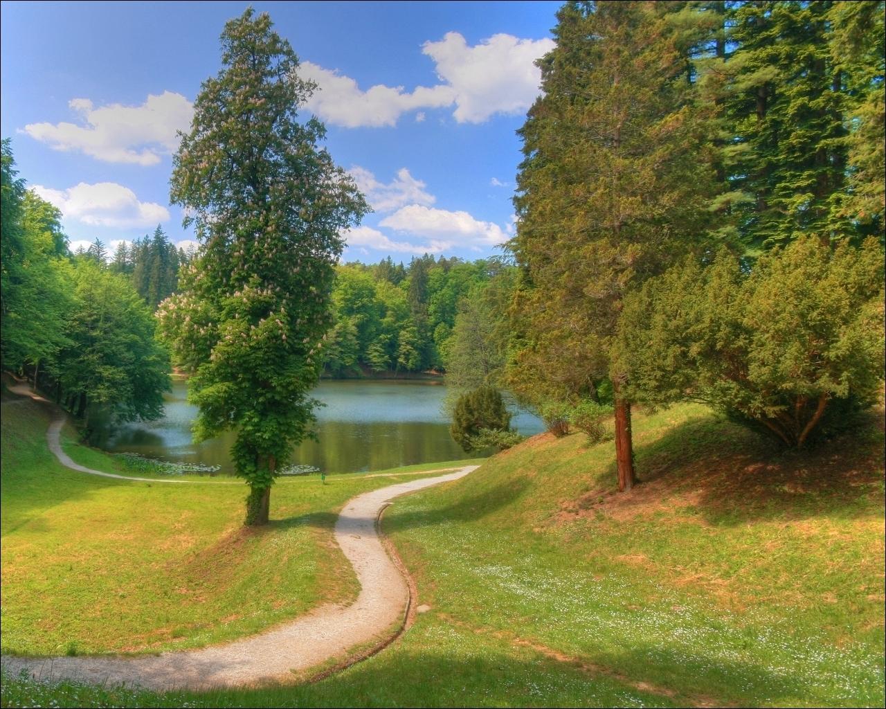природа россии фото весна лето