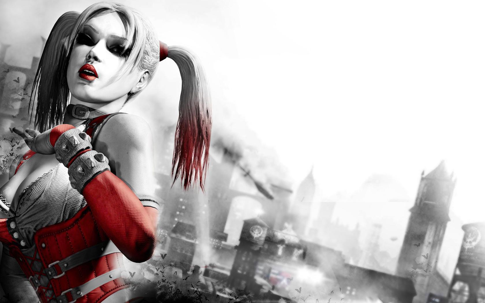 Harley Quinn  Batman Arkham City Wallpaper  WallDevil