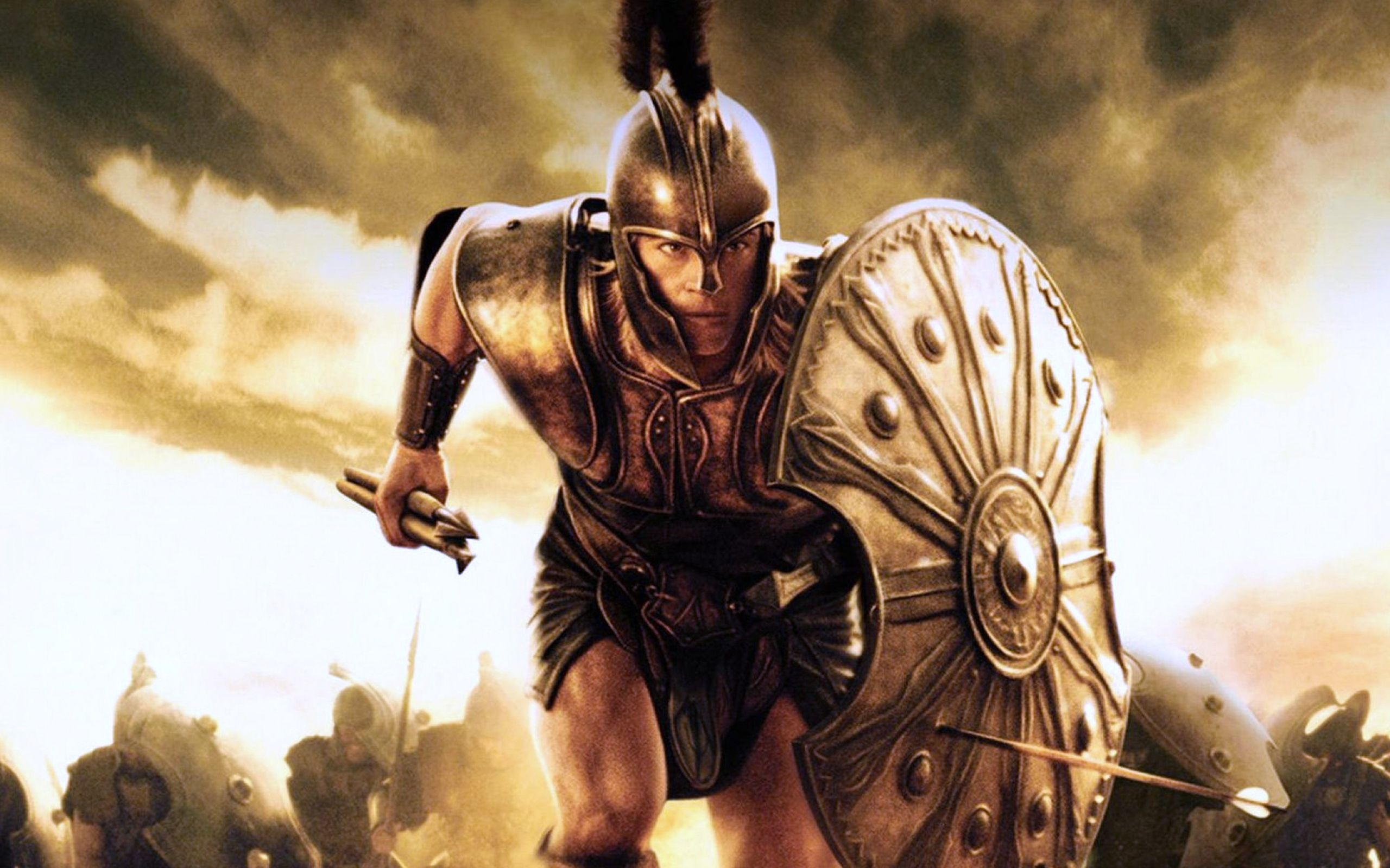 helen of troy rising action