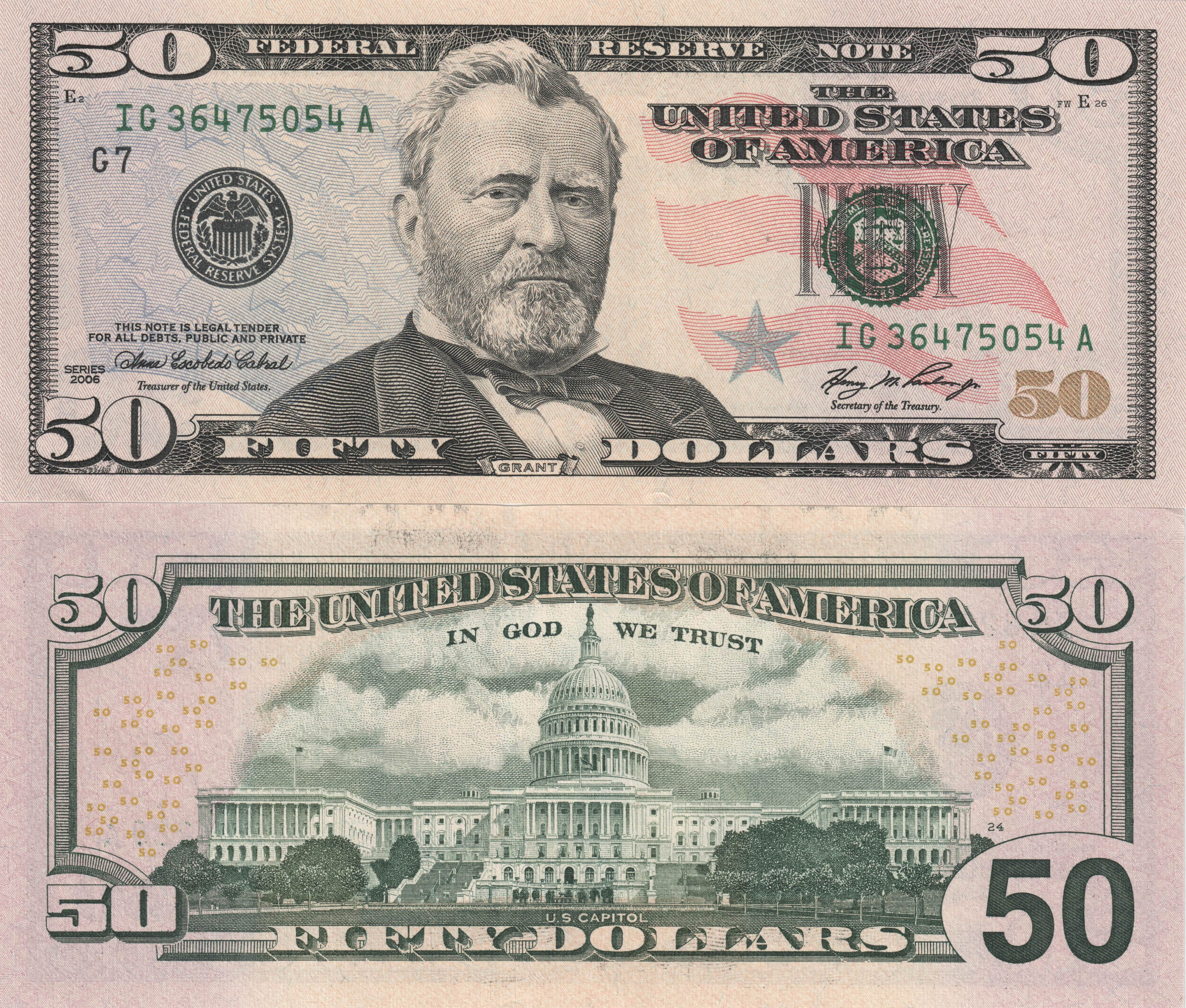 united states one dollar bill - 970×833