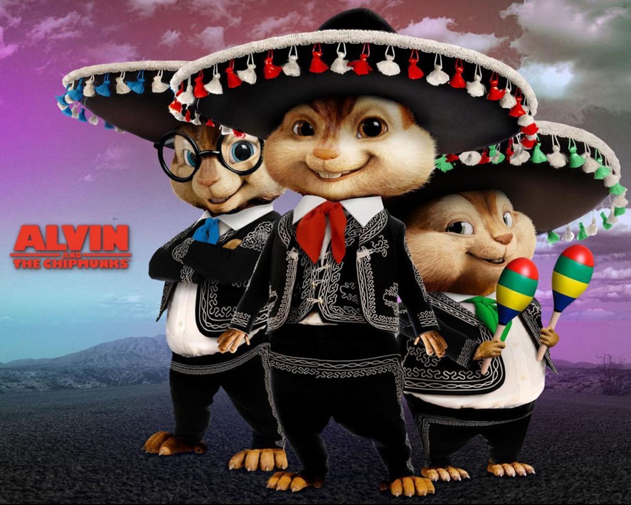 Элвин и бурундуки Alvin and the Chipmunks обои (14 фото) скачать ...