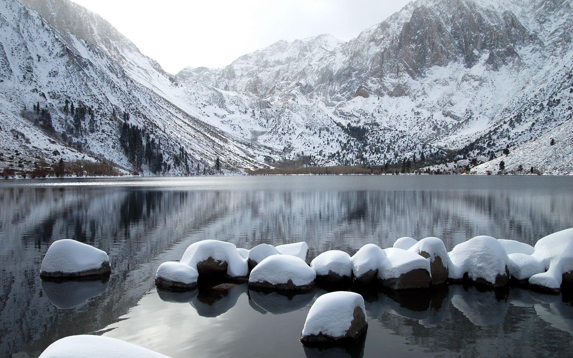 горы камни снег зима  № 2512949  скачать