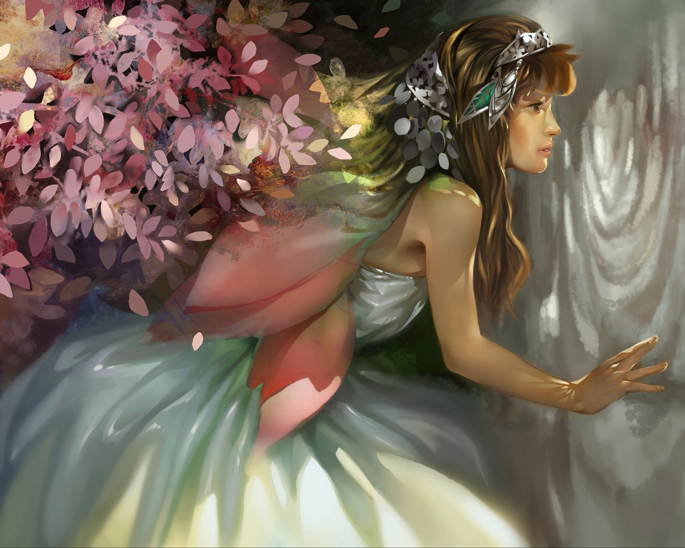 Fantasy fairy art softcore comics