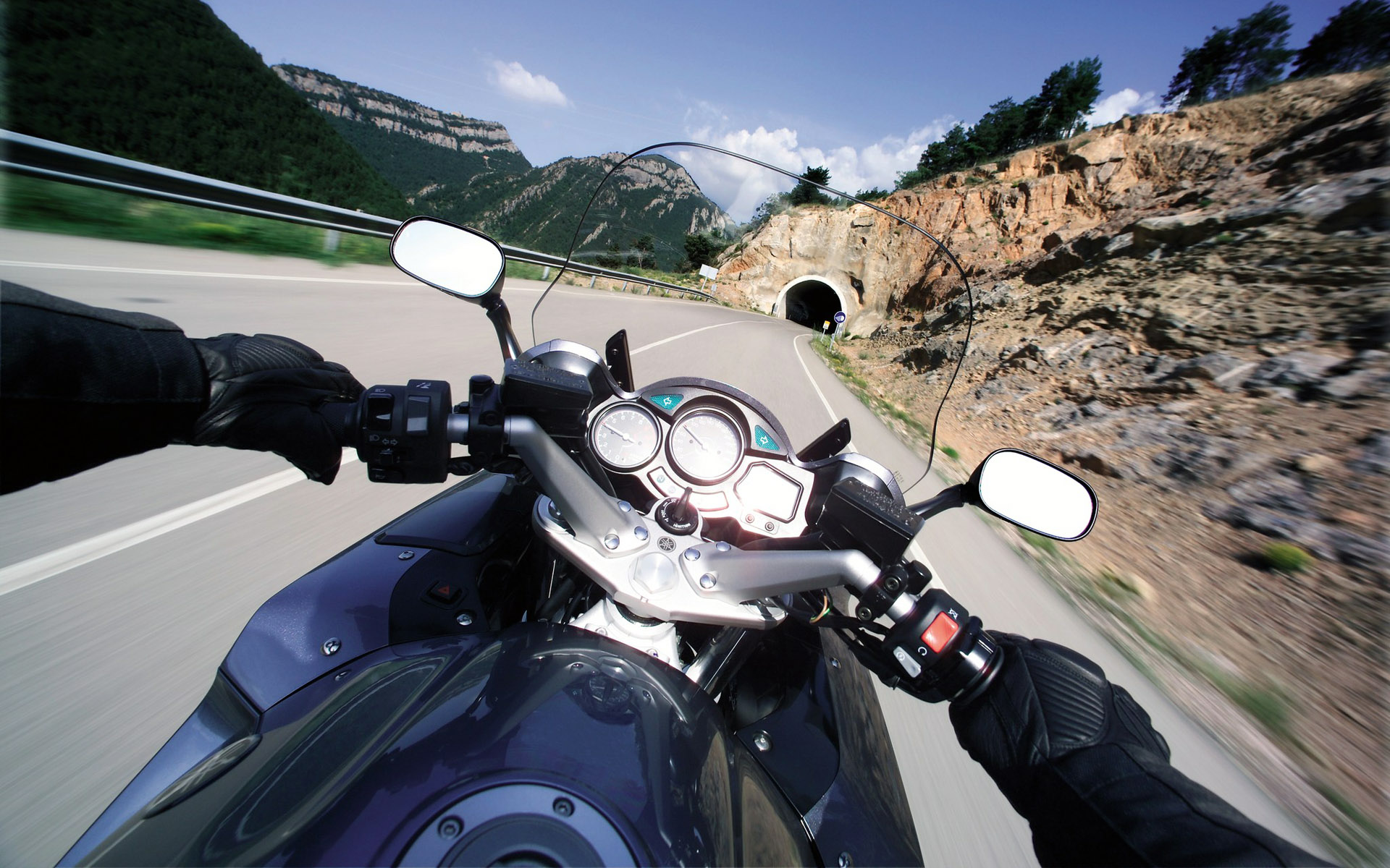 мотоцикл yamaha дорога загрузить