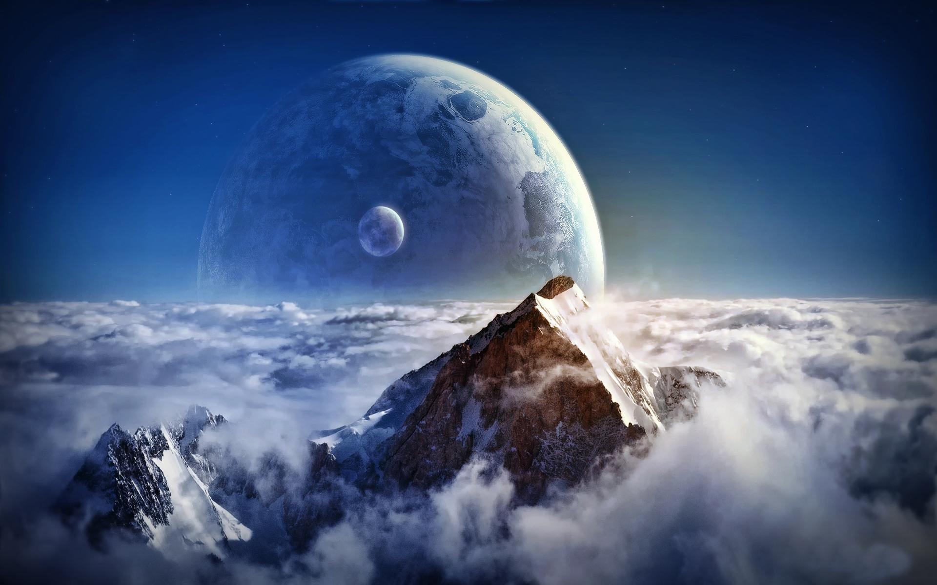 Обои Земля планета космос картинки на рабочий стол на тему Космос - скачать  № 3551622  скачать