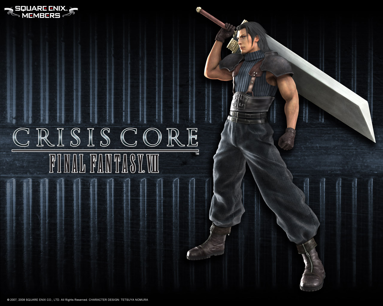 Crisis Core: Final Fantasy VII  / RUS / Action-RPG / 2008 / PSP [ISO]