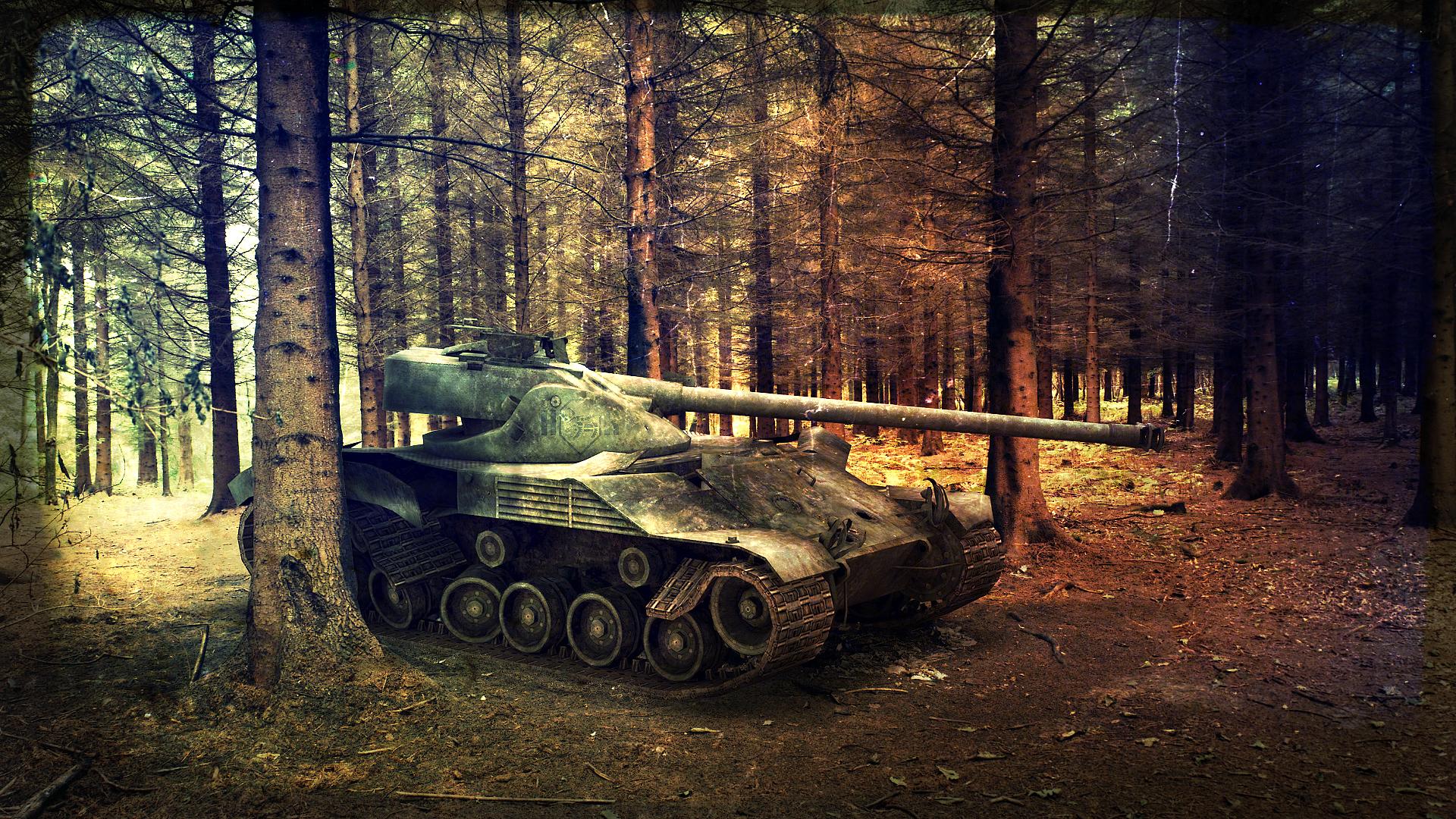 Обои 1366х768 для рабочего стола hd танки
