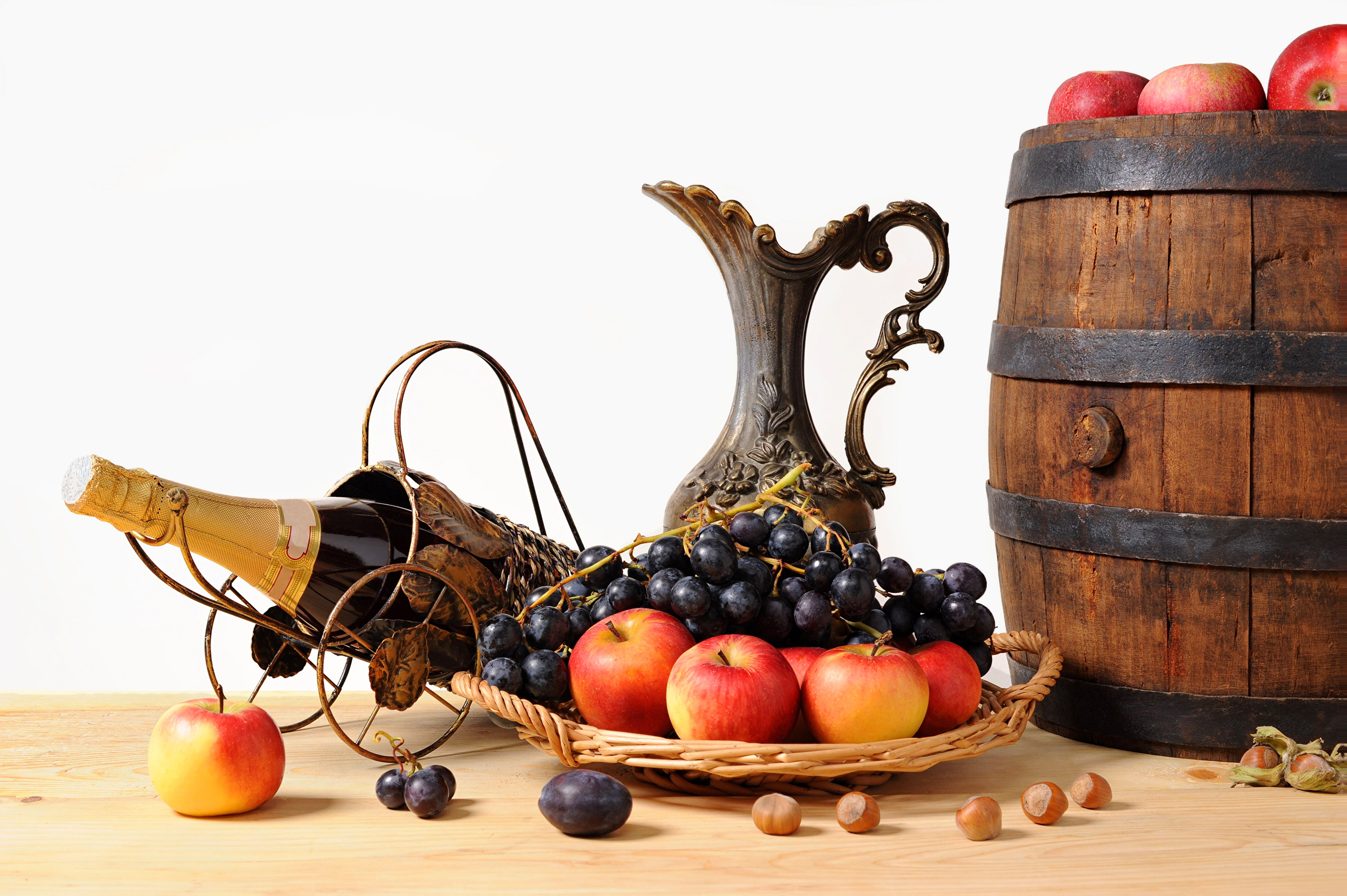 Виноград в корзине загрузить