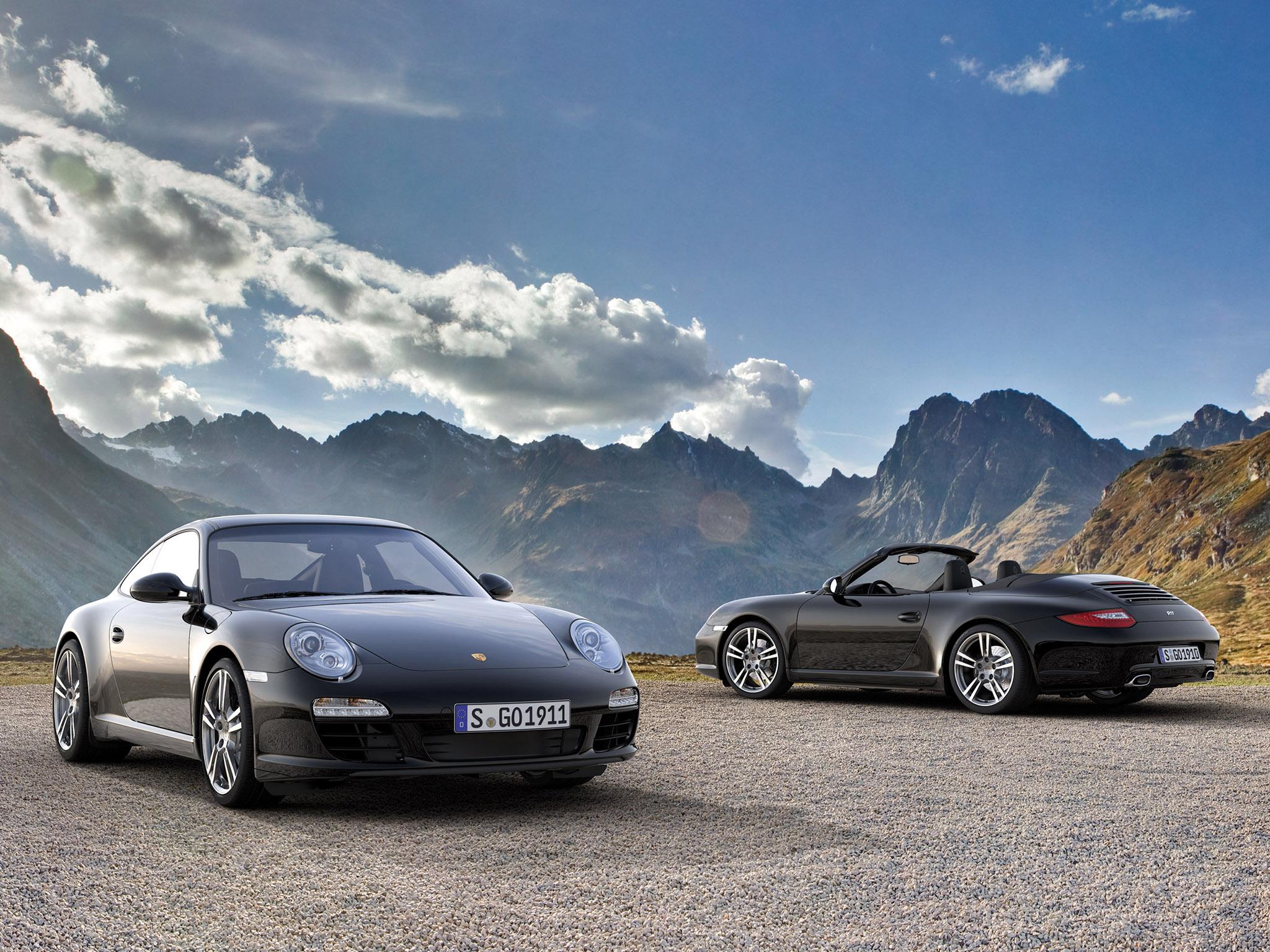 Porsche черная тюнинг без смс