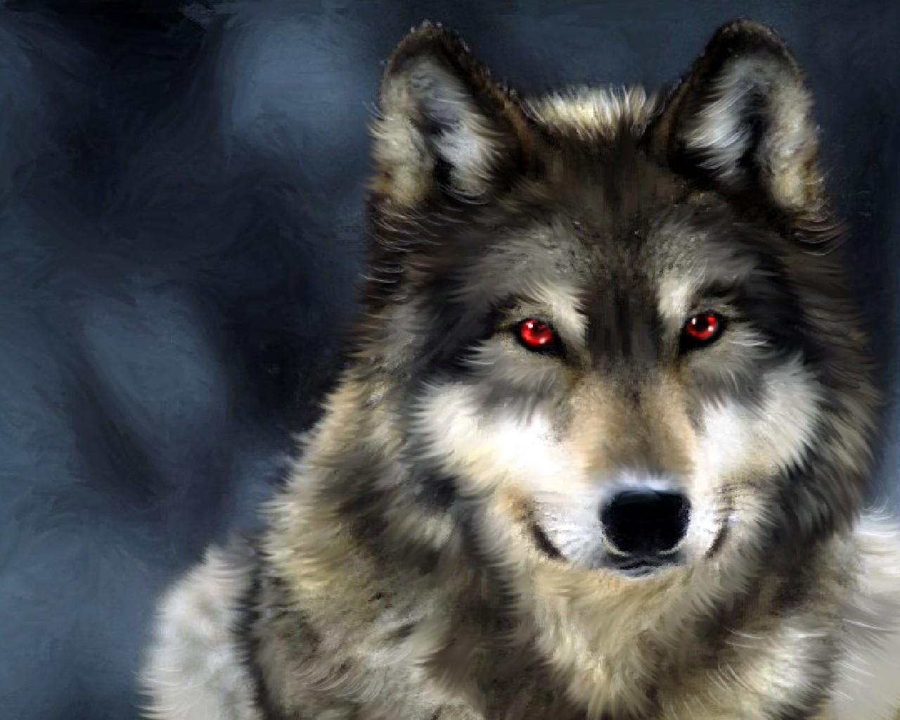 Wolf Clock (анимация)