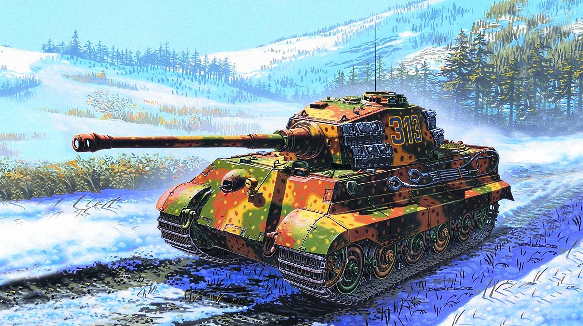 фото королевский тигр танк