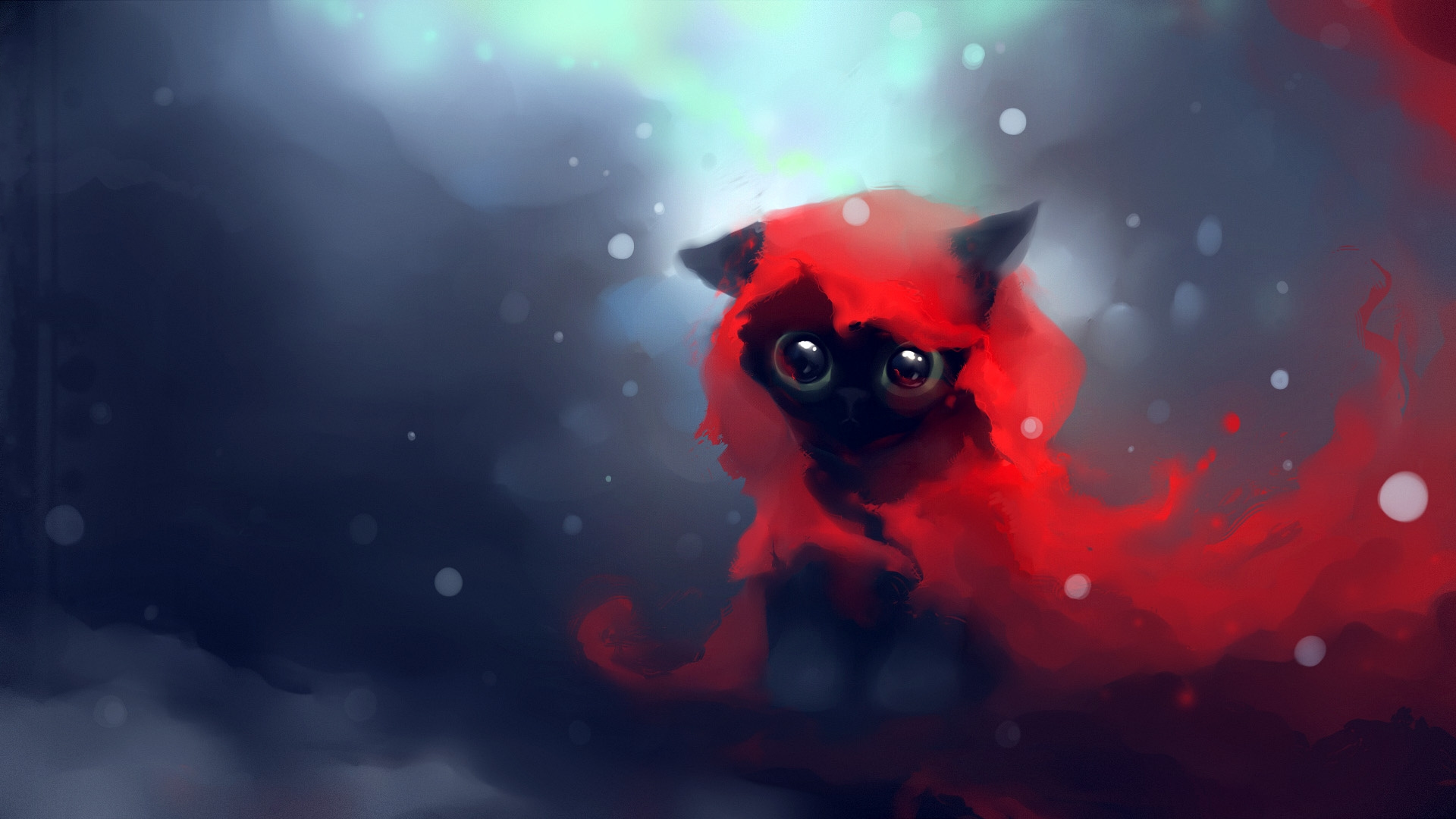 кошка язык глаза сердечки  № 2824844 загрузить