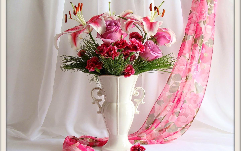 Фото красивых ваз для цветов