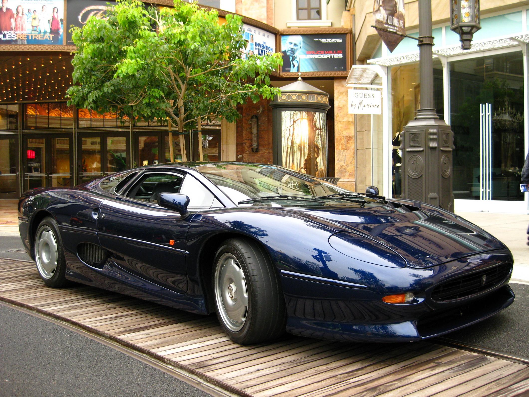 Картинки Ягуар Jaguar XJ220 Автомобили авто машина машины автомобиль