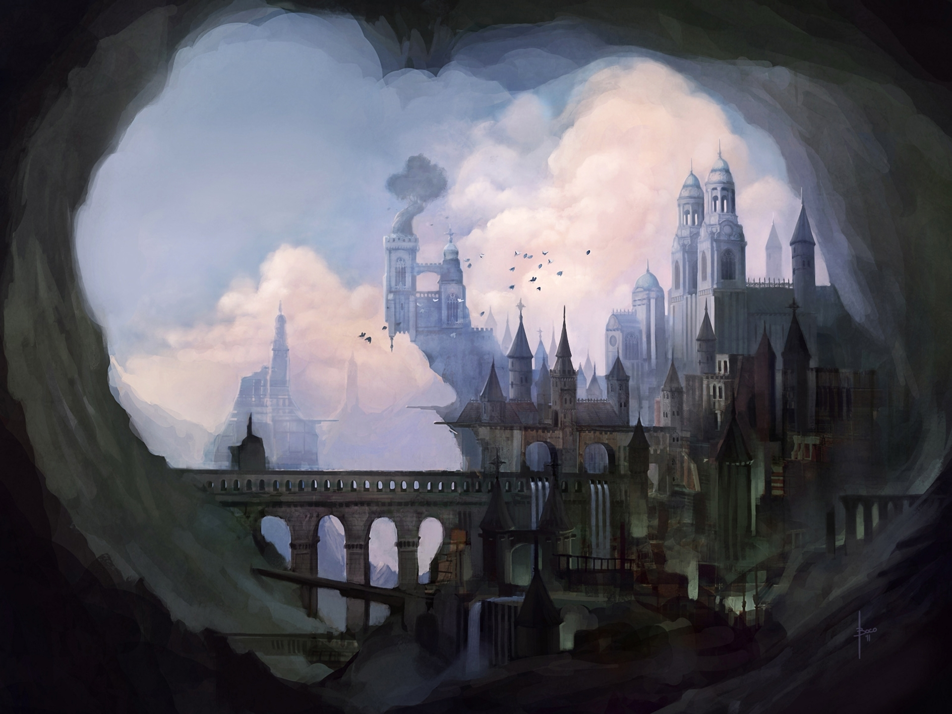 Замок Графини. 309707-blackangel