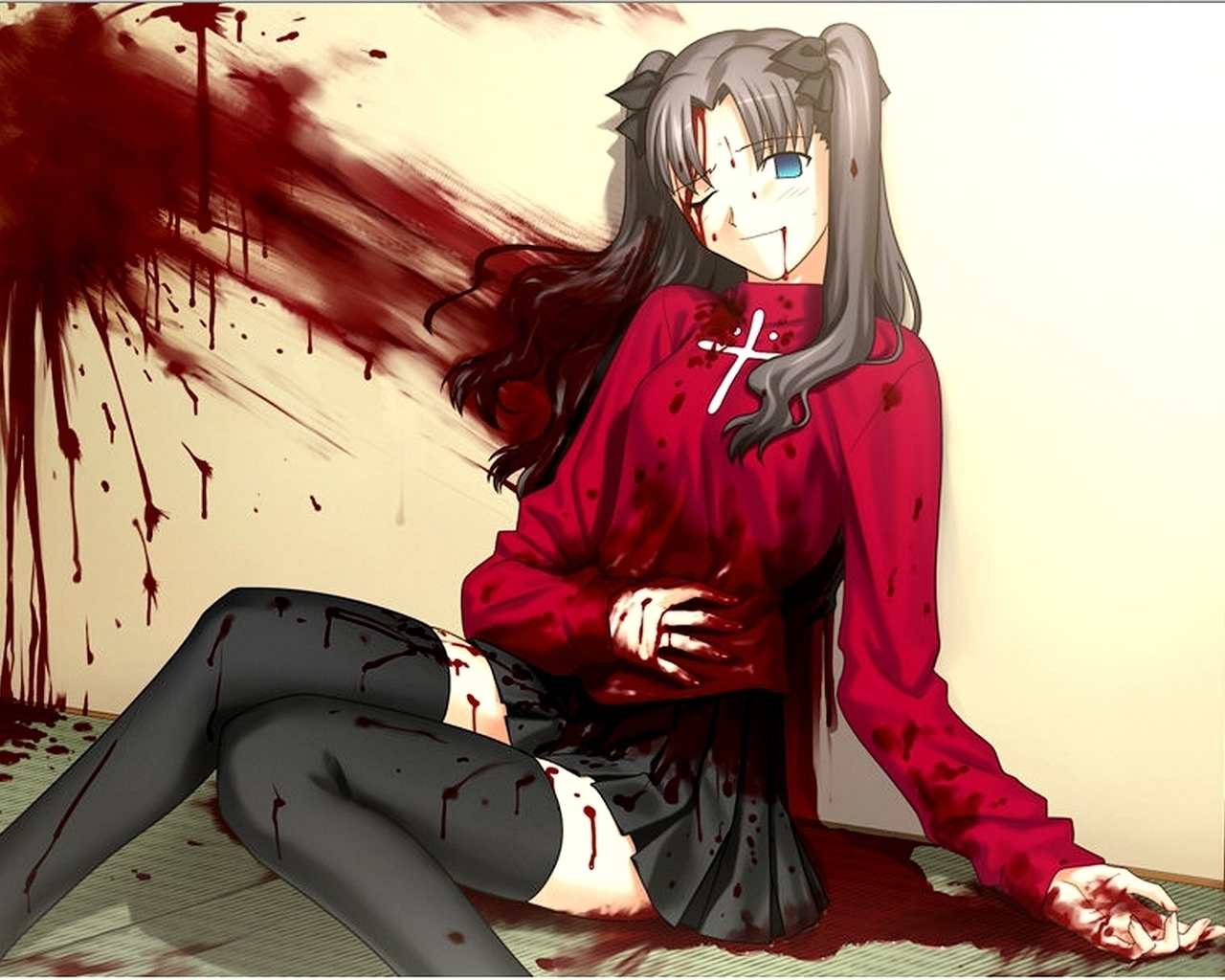 Жестокие аниме картинки 1 фотография