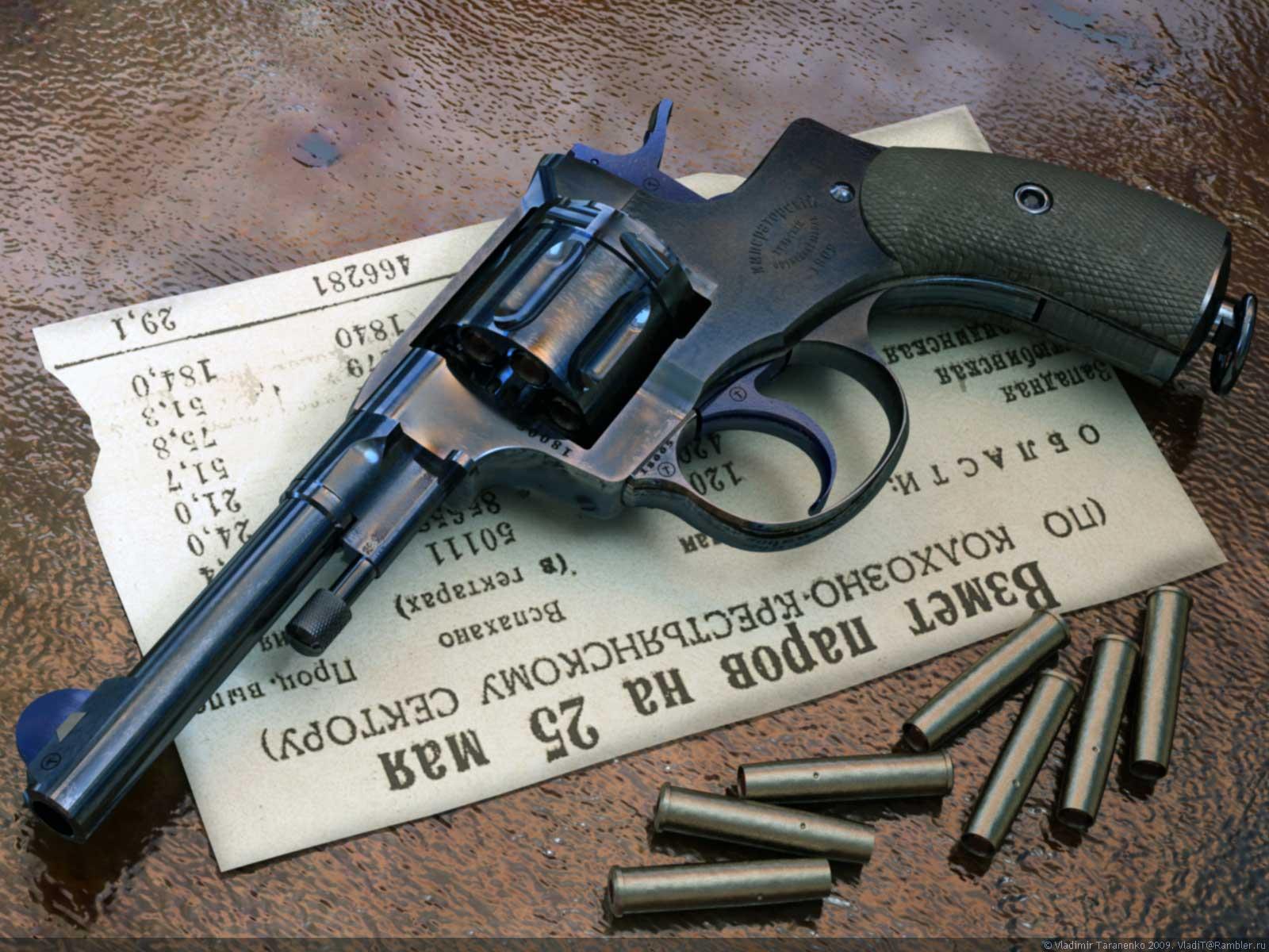 Револьвер наган своими руками фото