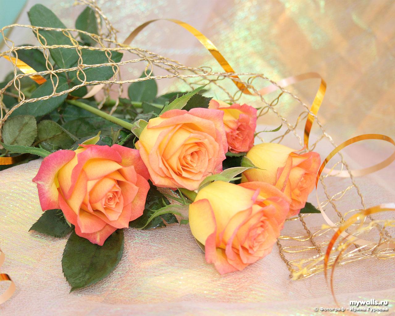 Стих к поздравлению цветы 920
