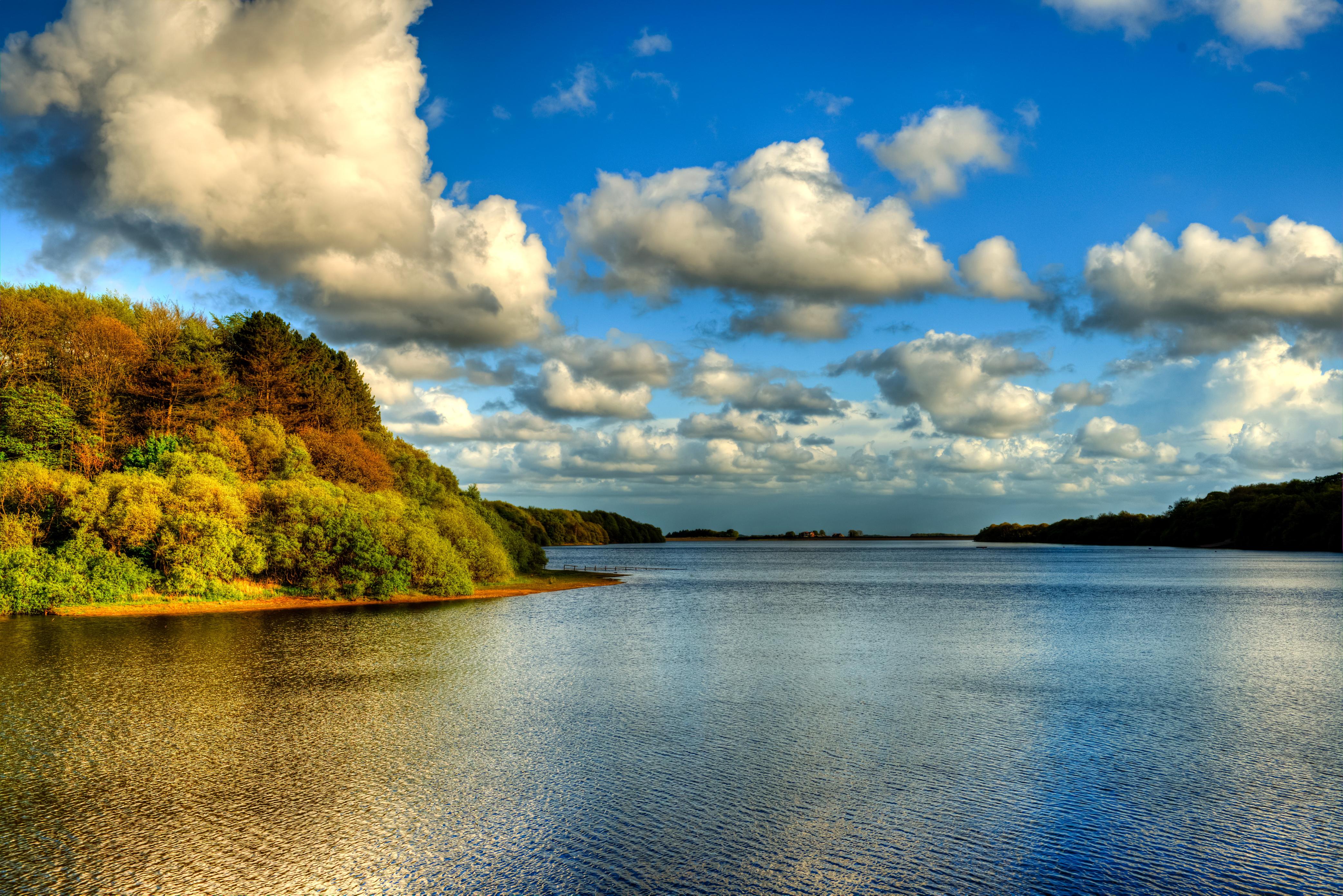 природа облака солнце река  № 2602922 бесплатно