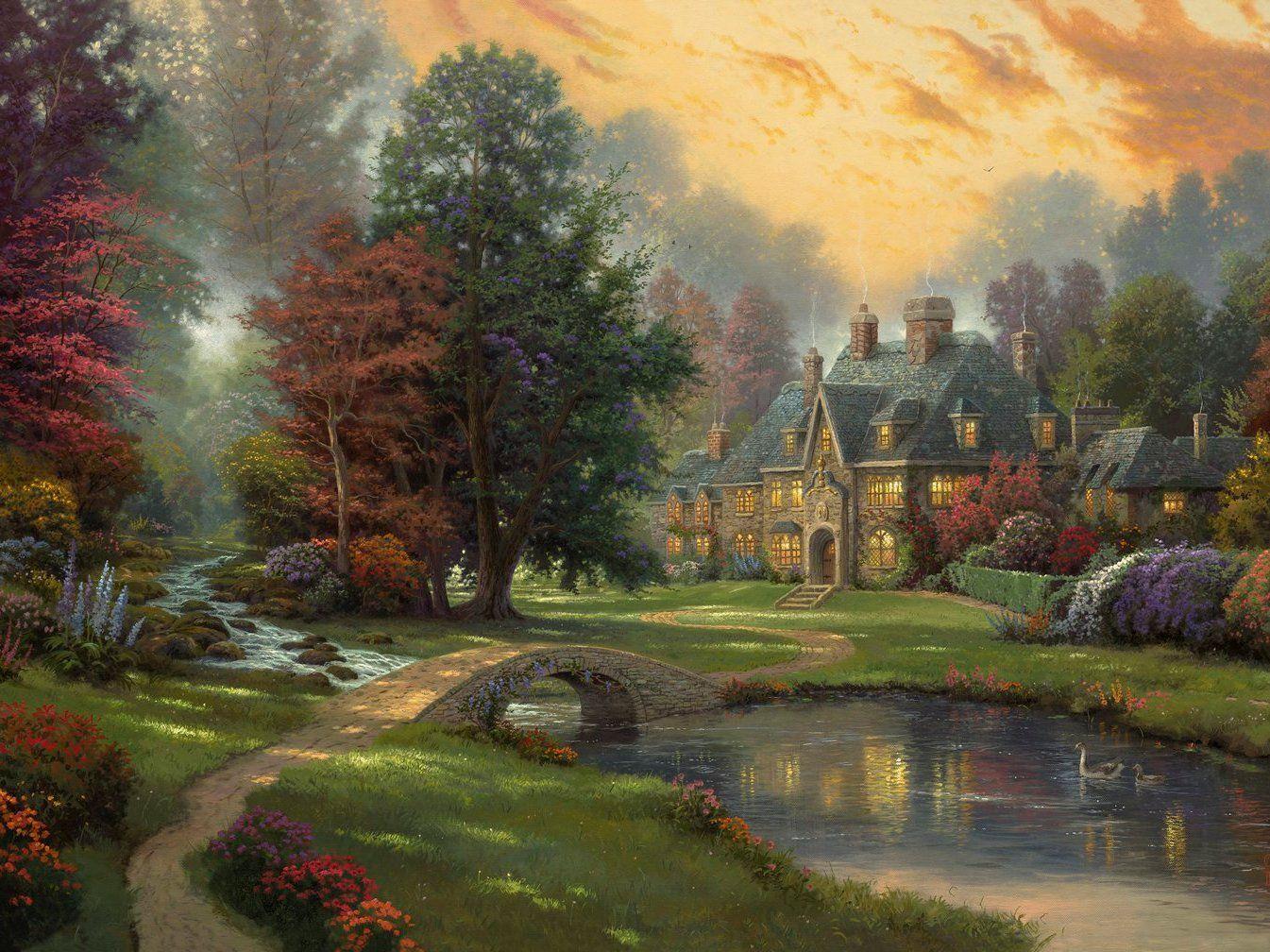 Живопись ( картина ) Thomas Kinkade
