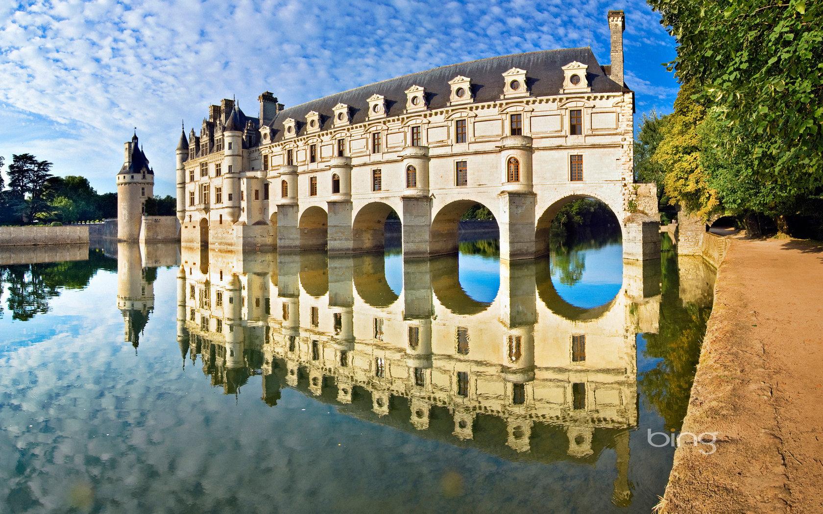 страны архитектура Франция река country architecture France river без смс