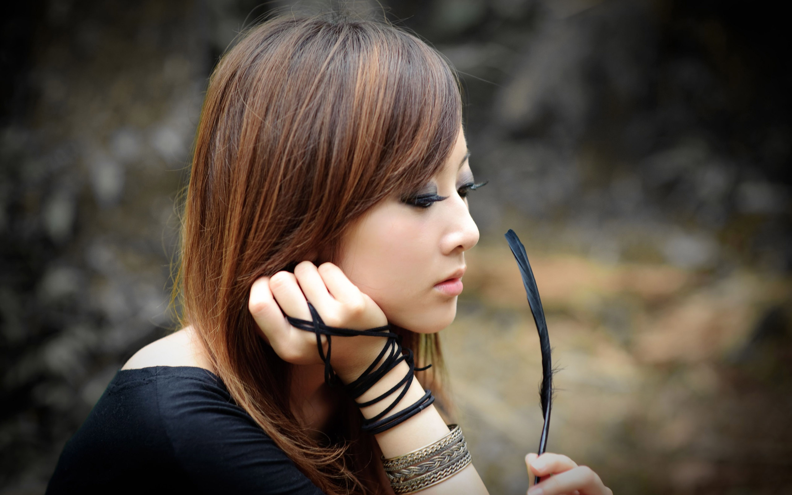 девушка брюнетка японка загрузить