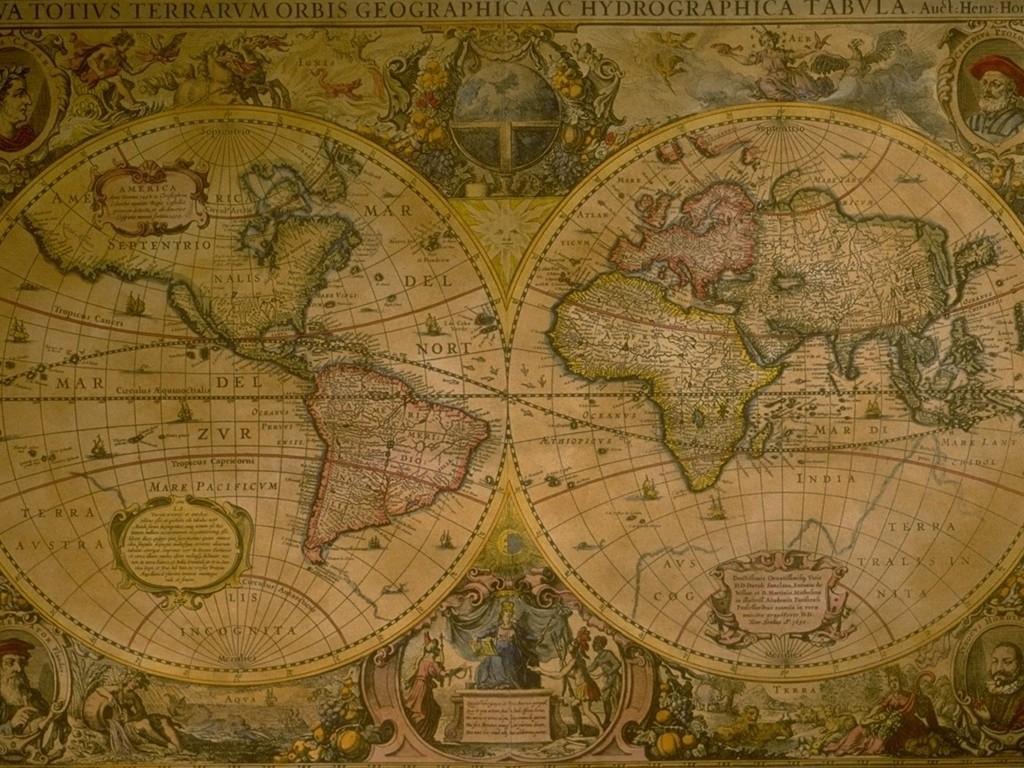 Картинка Географическая карта География