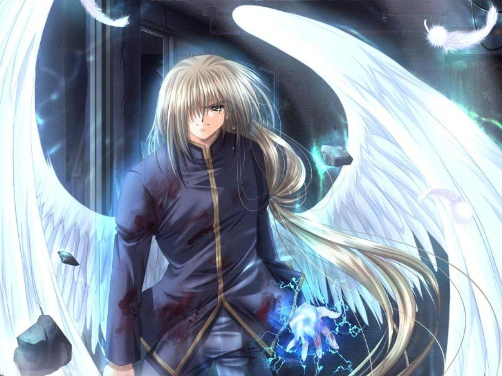 скачать картинки аниме ангелы: