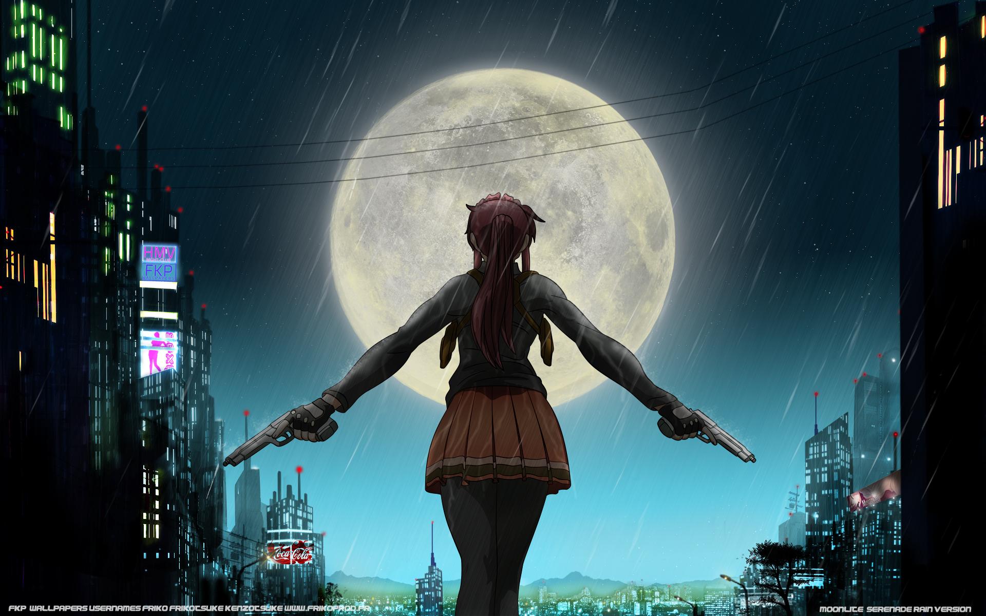 ブラックラグーン月
