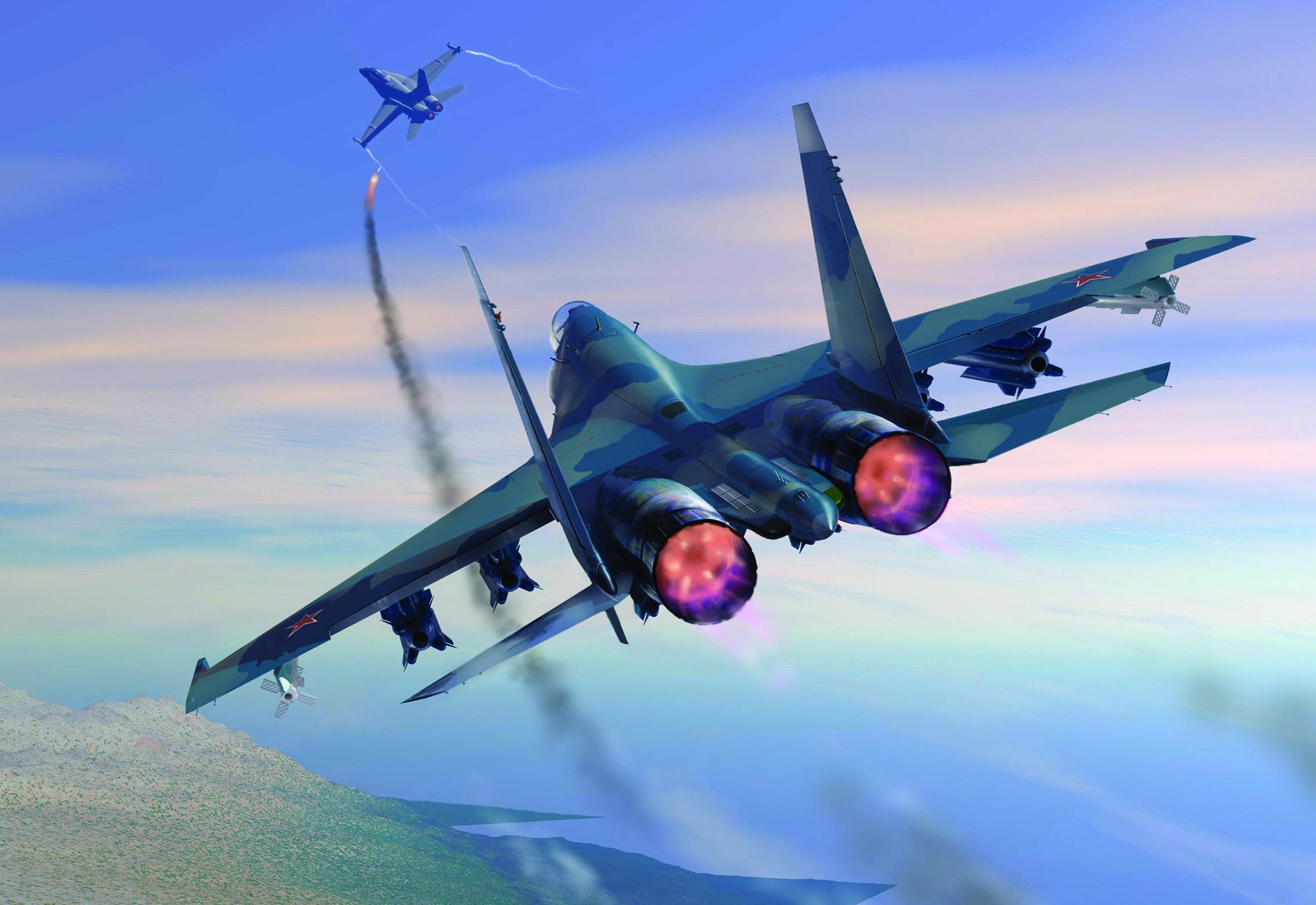 Воздушный бой  № 2372957  скачать