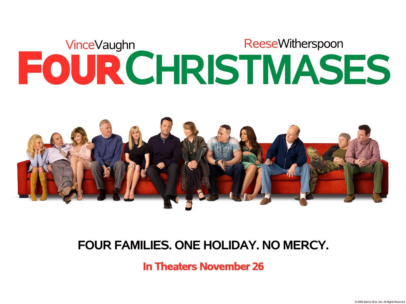 Обои для рабочего стола Четыре Рождества кино Фильмы