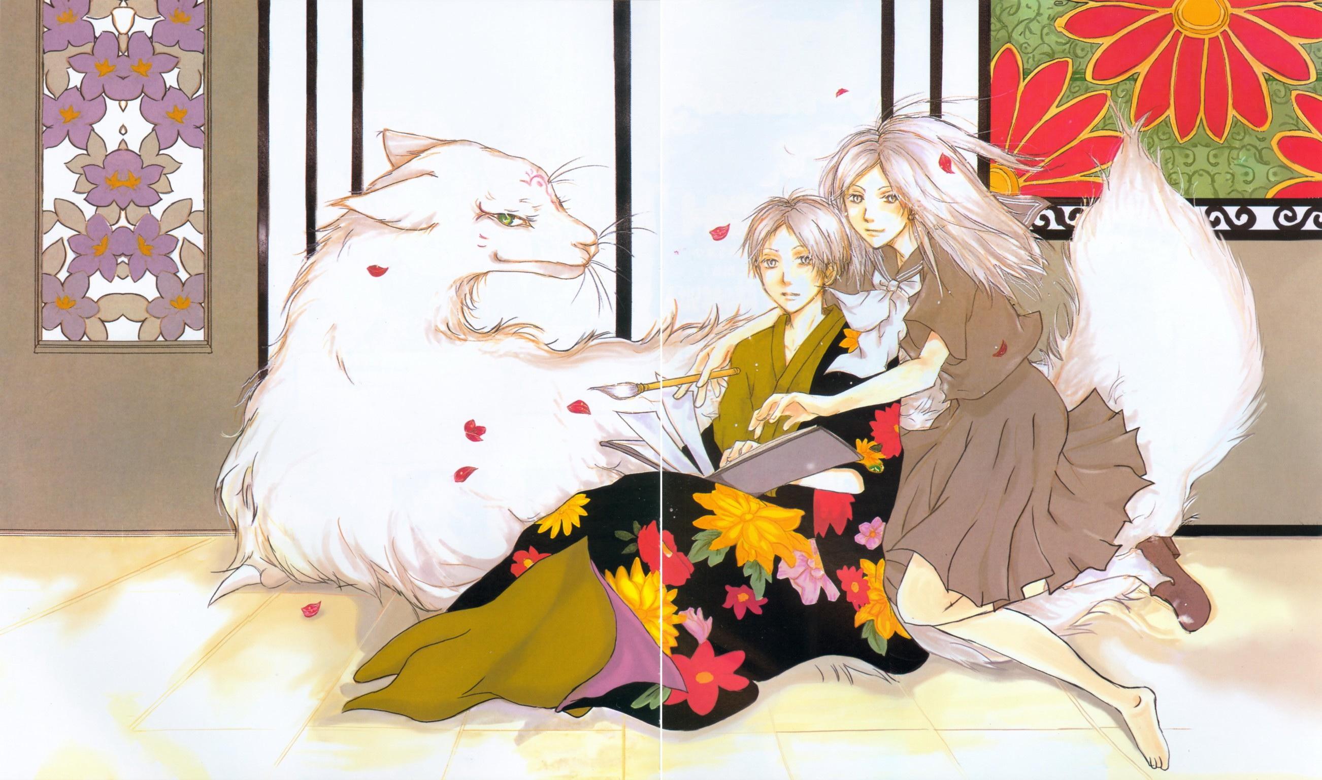 картинки аниме тетрадь дружбы нацумэ: