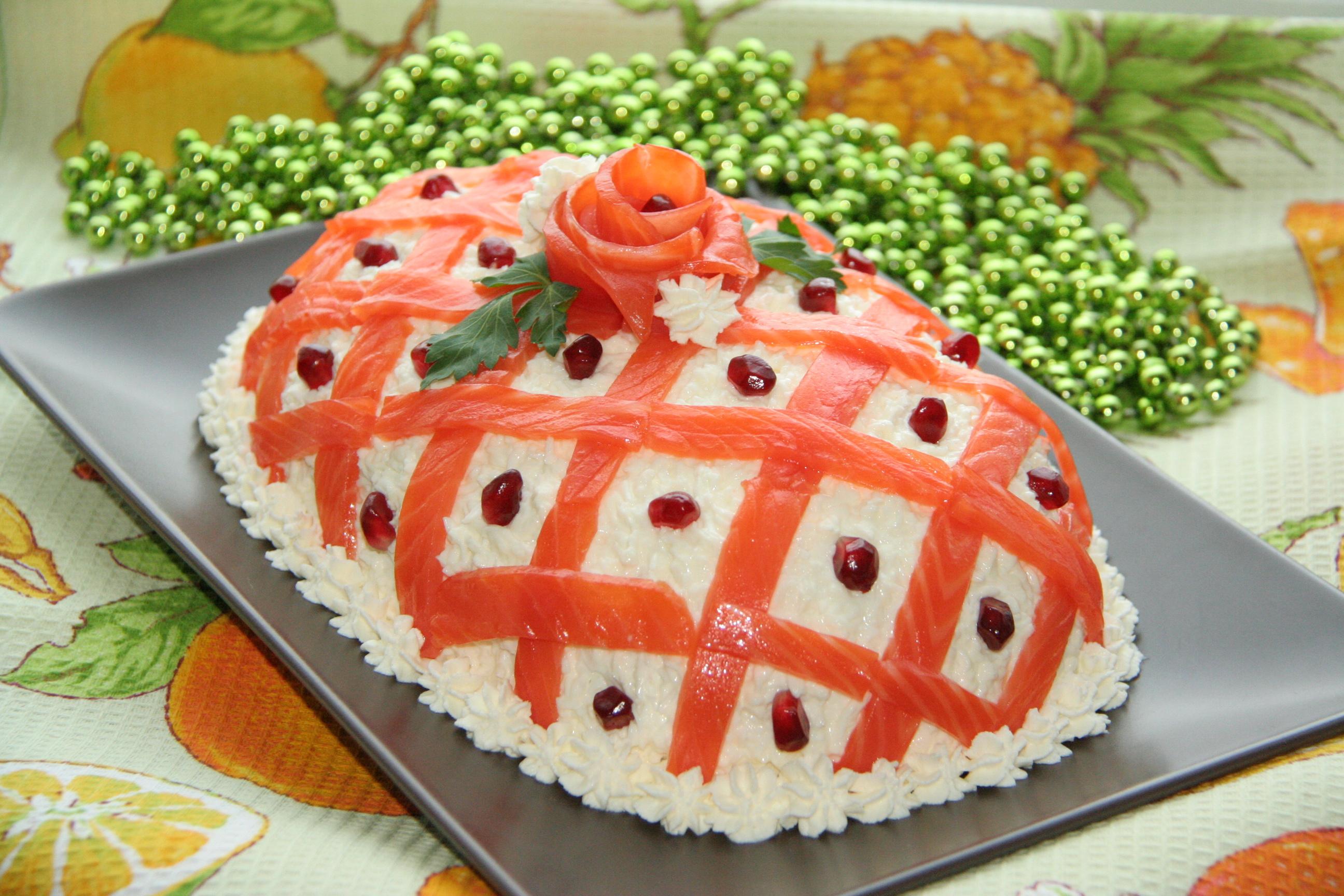 Оригинальные и праздничные салатов