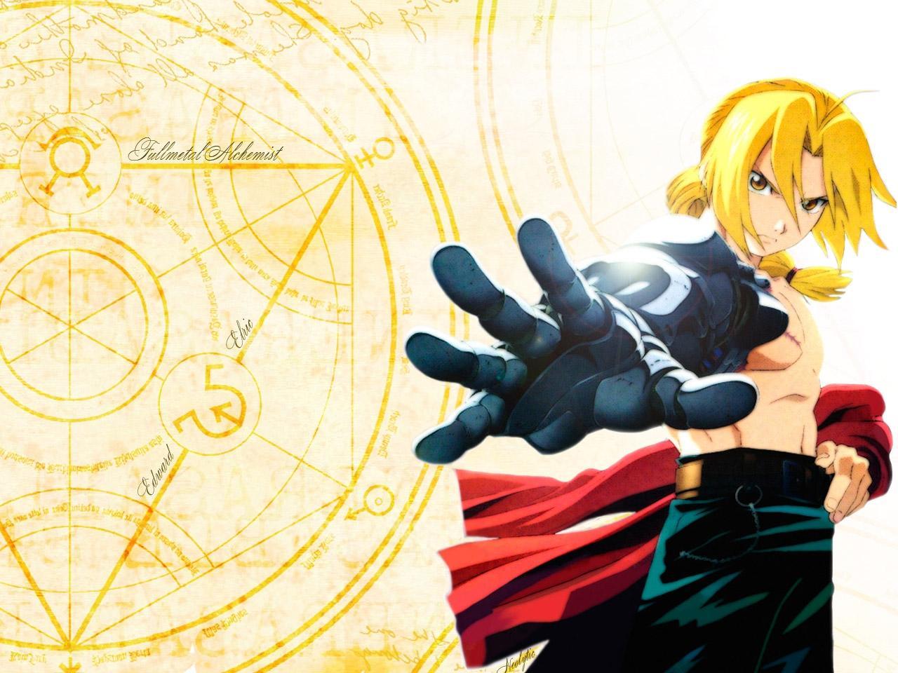 картинки аниме стальной алхимик: