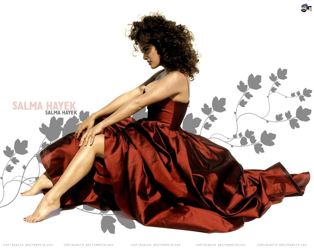 Картинка Сальма Хайек Знаменитости Salma Hayek