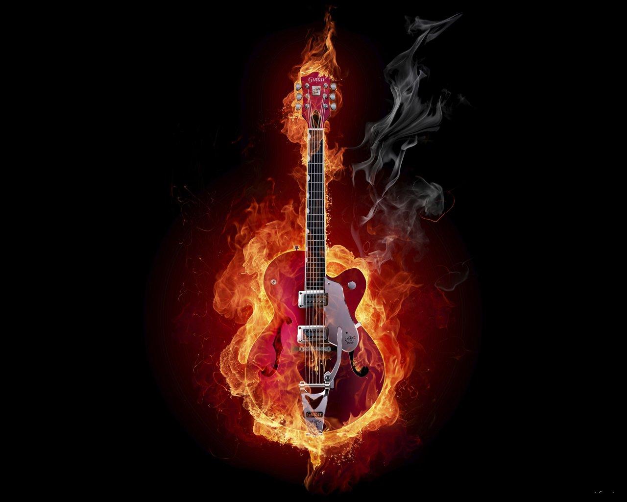 Обои Гитара. Разное foto 19