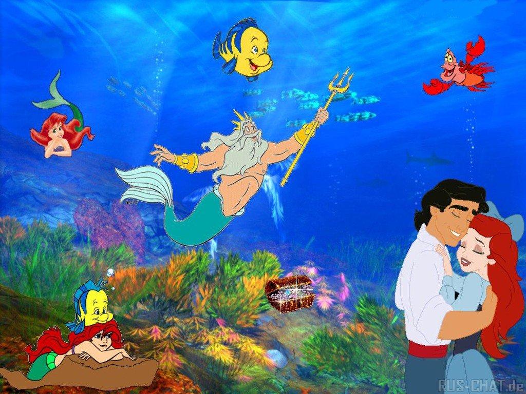 Disney s The Little Mermaid Википедия