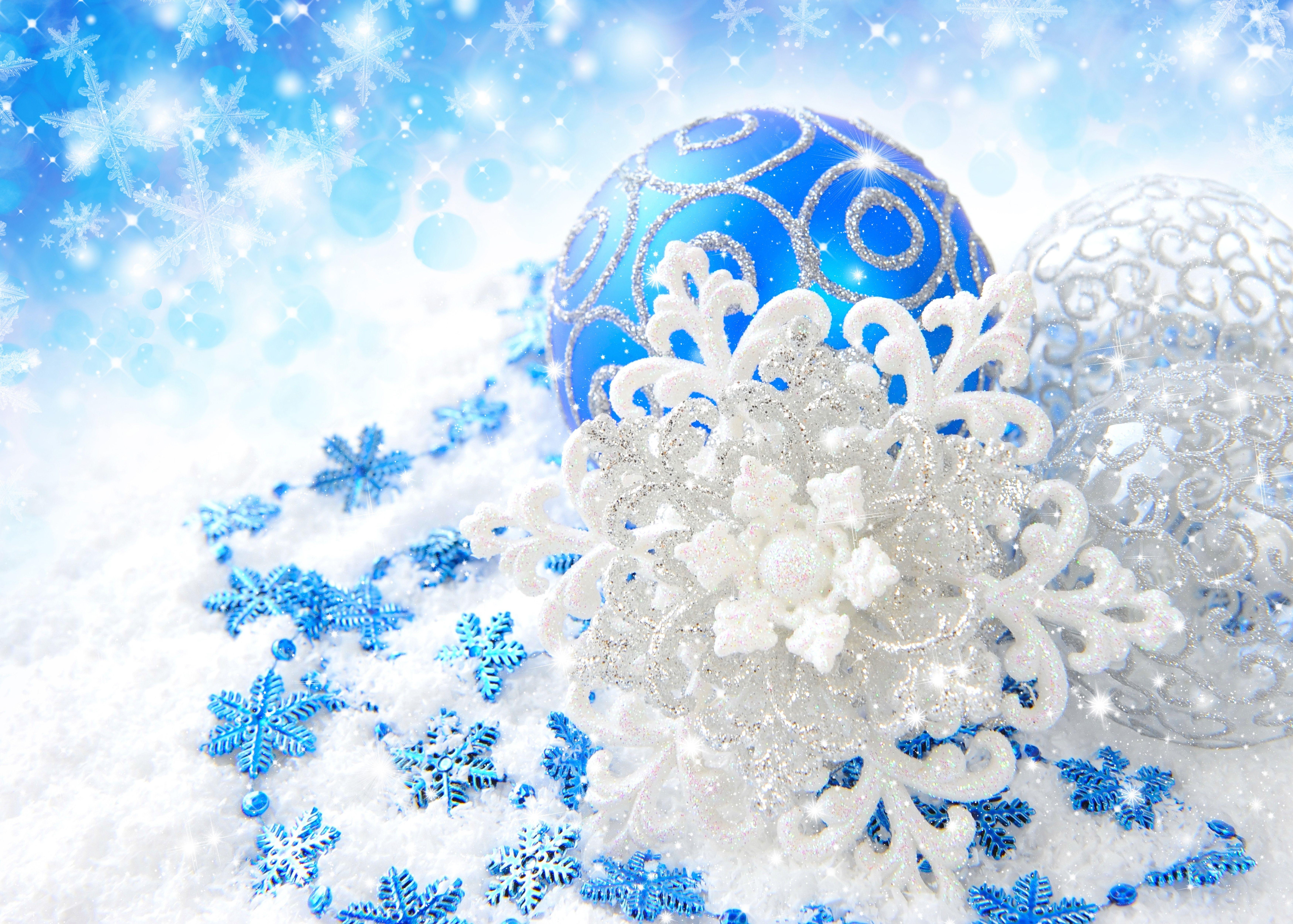 Голубые шары скачать