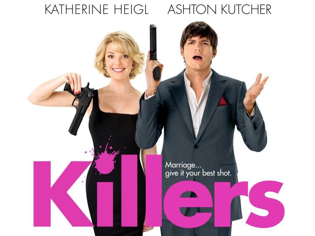 Обои Киллеры Ashton Kutcher Фильмы Эштон Катчер кино