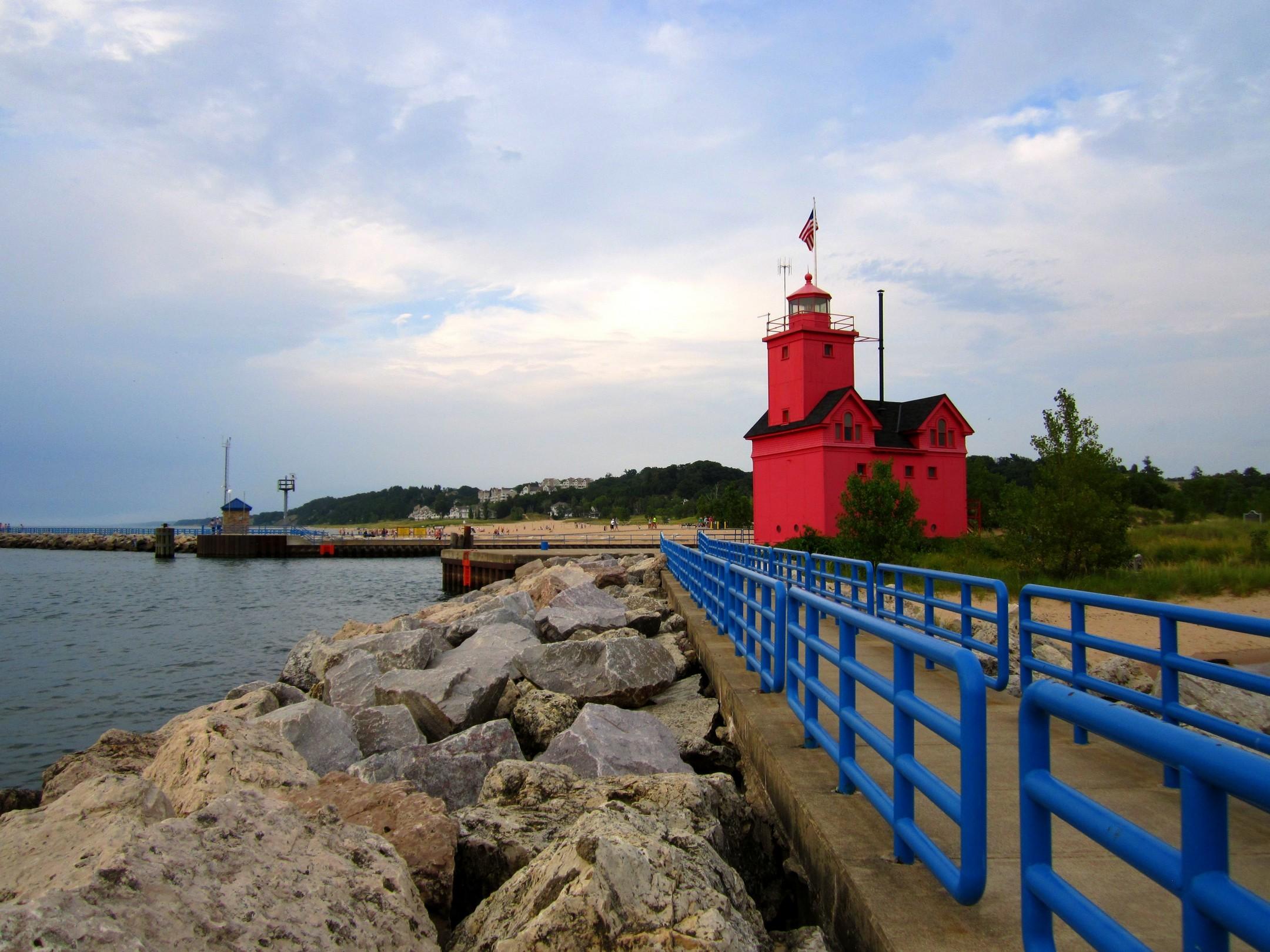 Eagle Harbor Lighthouse, Keweenaw Peninsula, Michigan  № 2240232 без смс