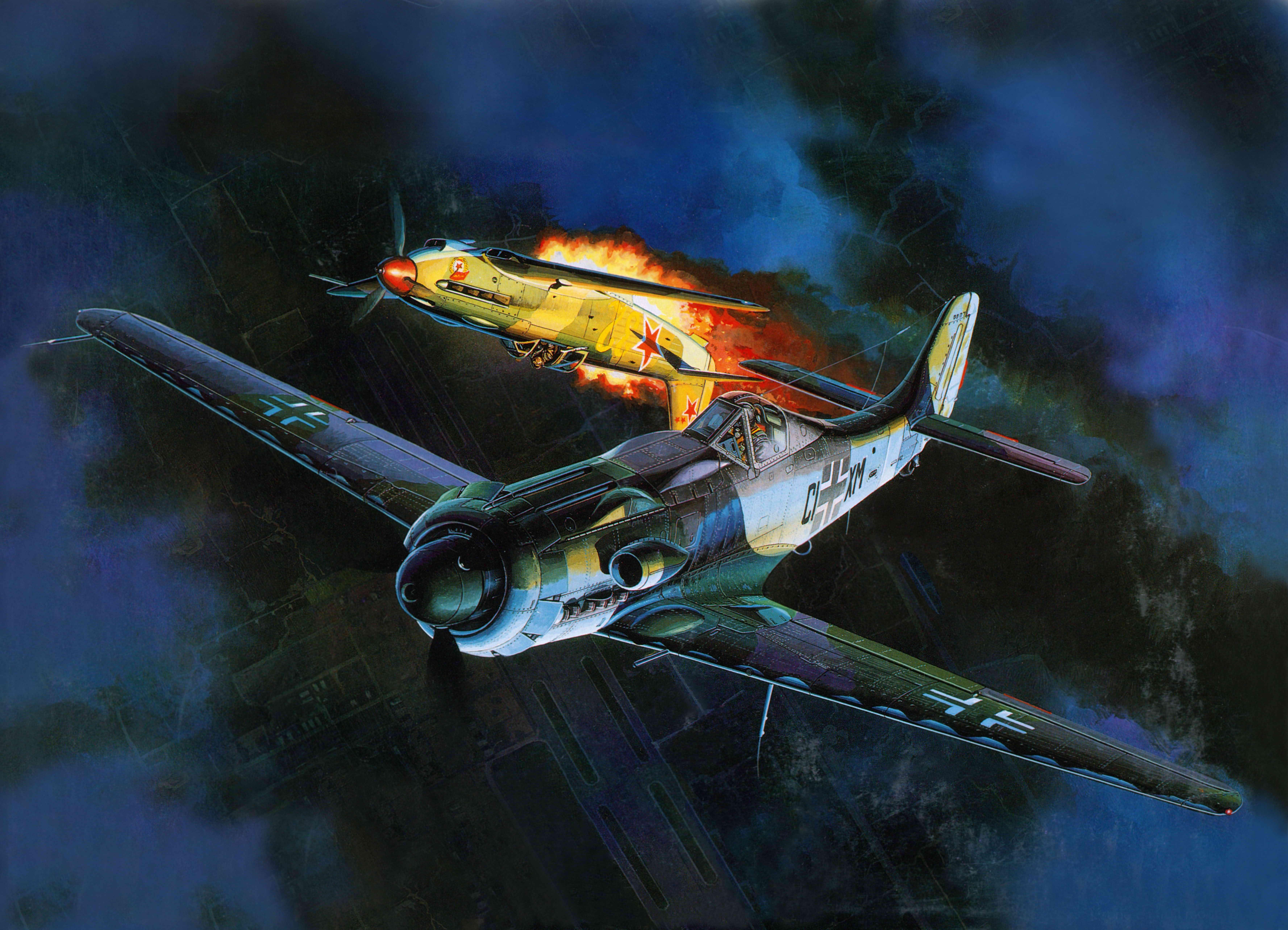 Воздушный бой  № 2373033 бесплатно