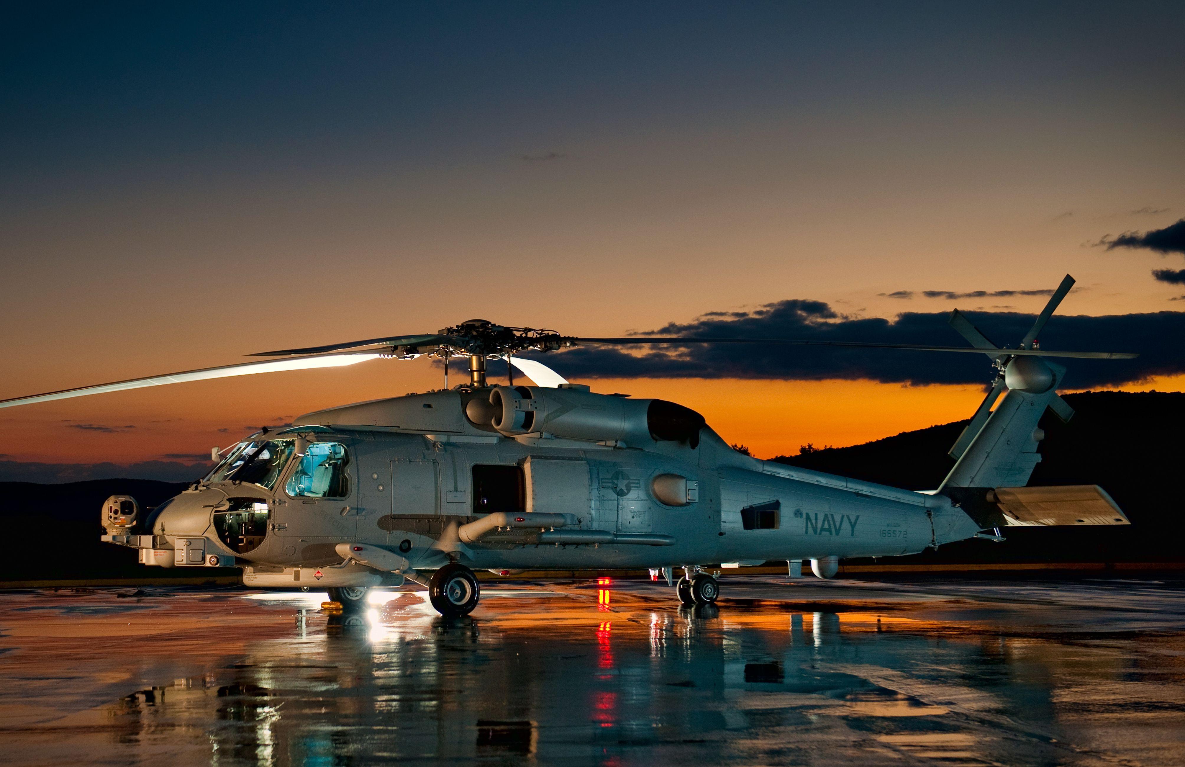 вертолет под звездным небом загрузить