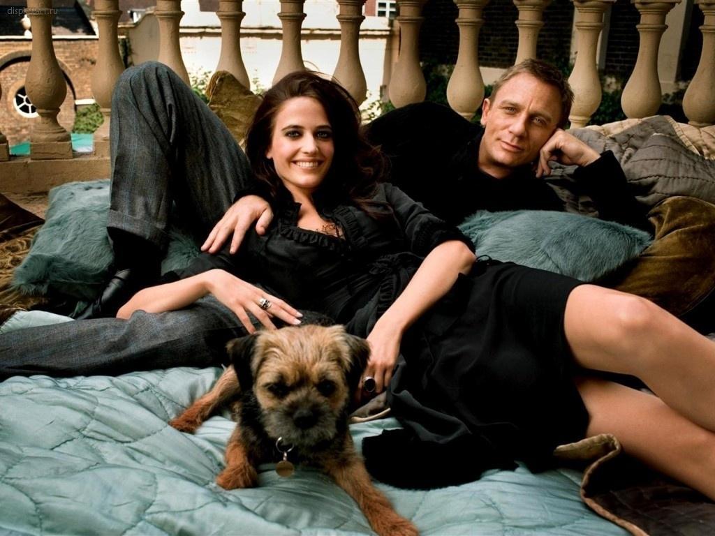 Фотография Ева Грин Дэниэл Крэйг Знаменитости Eva Green Daniel Craig